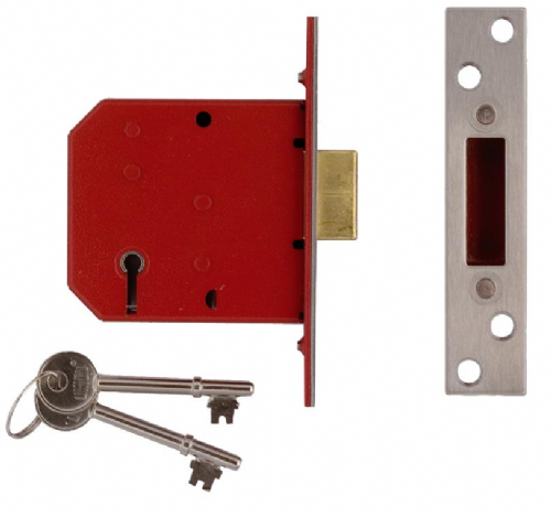 Union 2101 5 Lever Mortice Deadlock